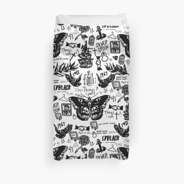Harry - All Tattoos Duvet Cover