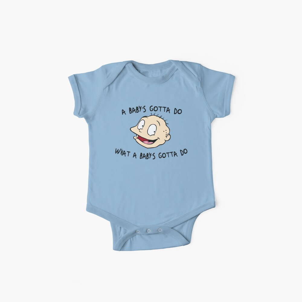 A Baby's Gotta Do What A Baby's Gotta Do - Rugrats Baby One-Piece