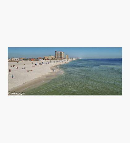 A Day on Pensacola Beach  Photographic Print