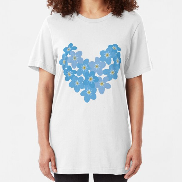 Forget me not Slim Fit T-Shirt