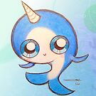 Happy Baby Narwhal by Sonya Craig