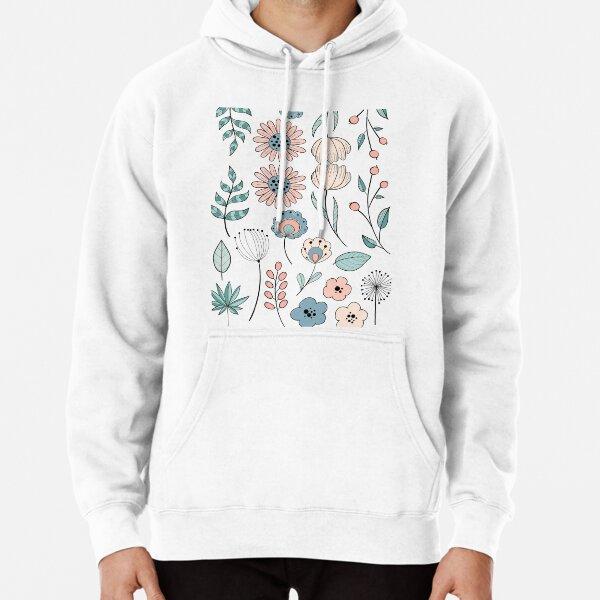 Blumen Sammlung Kräuterkunde Hoodie