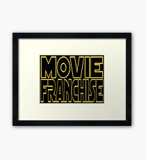 Movie Franchise Framed Print