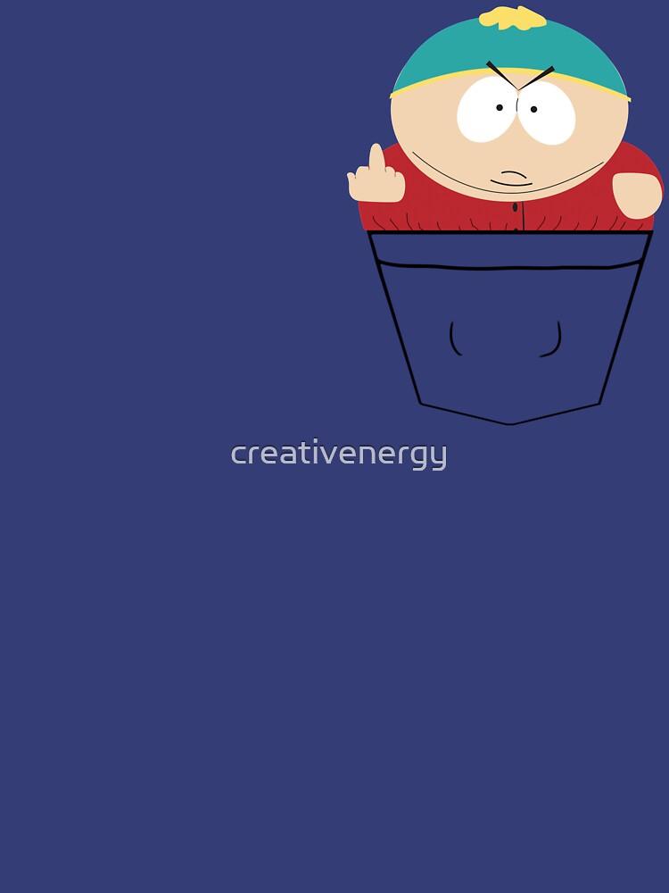Pocket Cartman | Unisex T-Shirt