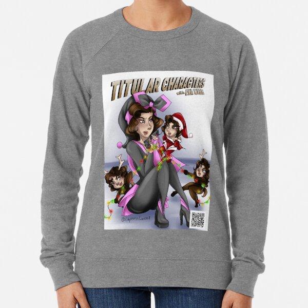 Eva being captured by Christmas clones Lightweight Sweatshirt