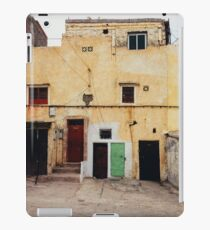 Old Yellow House Facade iPad Case/Skin