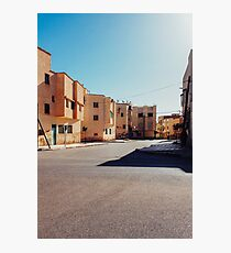 Buildings in Small Moroccan Town Photographic Print