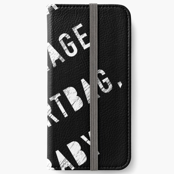 Ex Teenage Dirtbag - White iPhone Wallet
