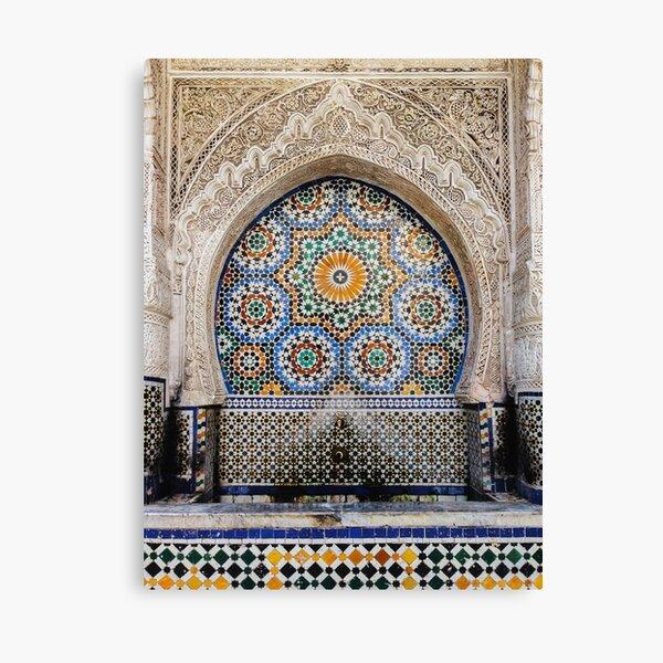 Elaborate Mosaic Canvas Print