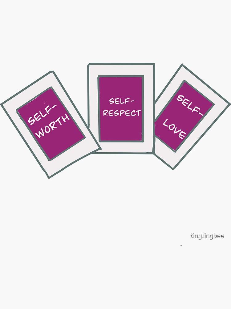 self-love sticker by tingtingbee