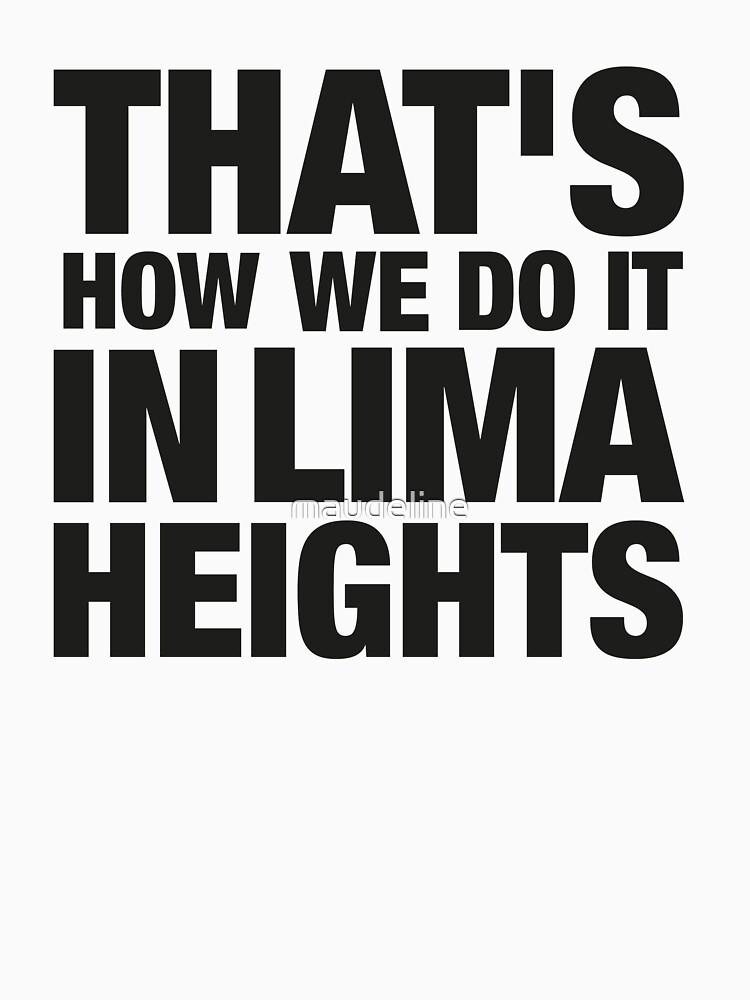 Lima Heights - Black   Women's T-Shirt