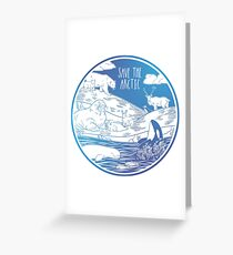 Save the Arctic! Greeting Card