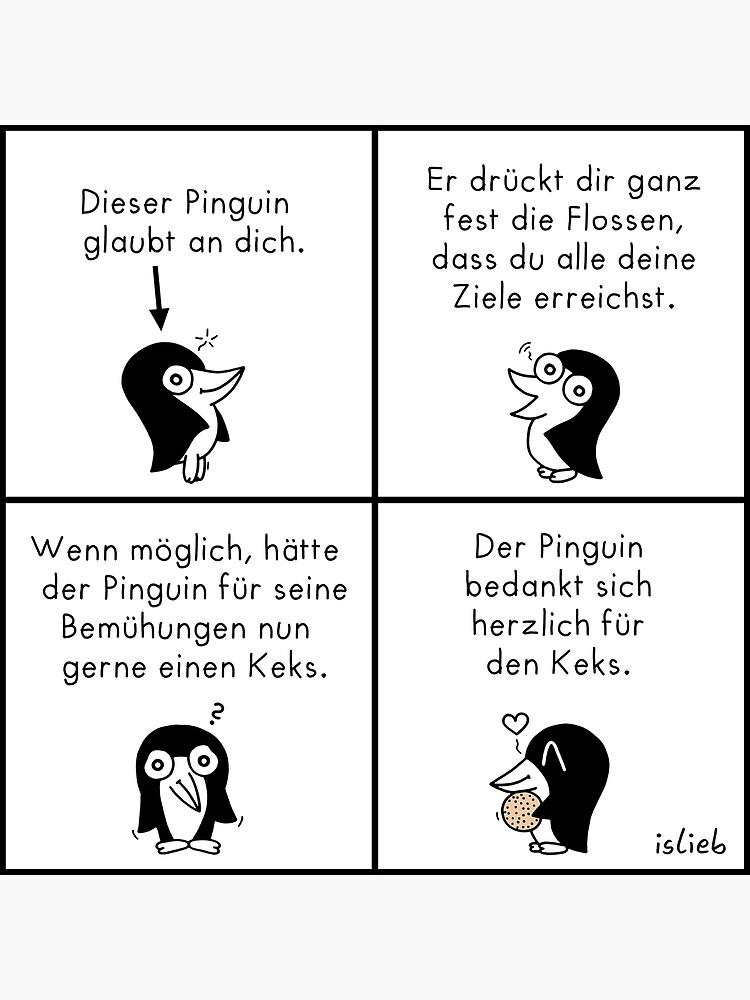 Motivations-Pinguin von islieb