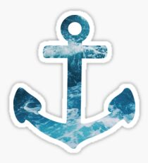 Ocean Anchor Sticker