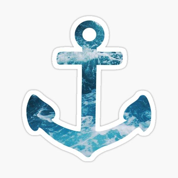 Ocean Anchor Sticker