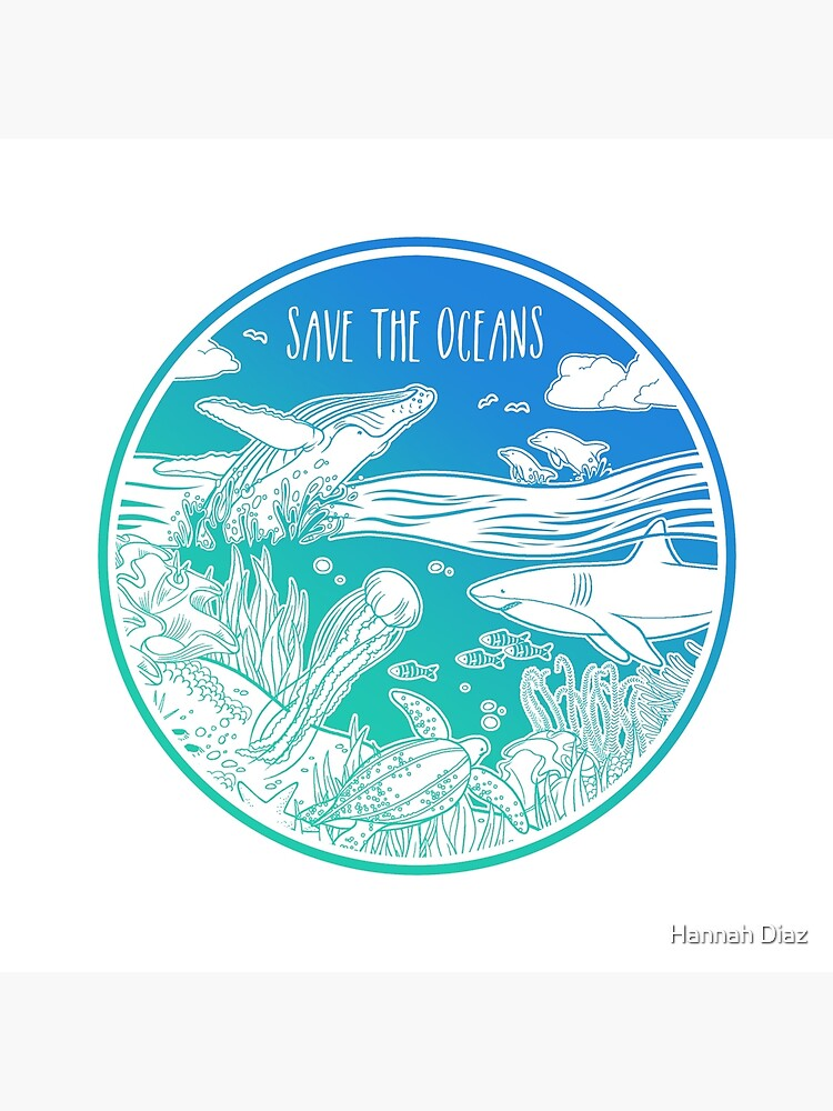 Save the Oceans! by Chikagi