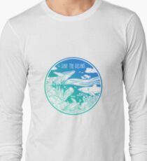Save the Oceans! Long Sleeve T-Shirt