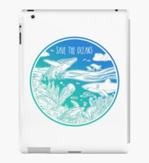 Save the Oceans! iPad Case/Skin