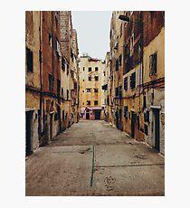 Run-Down Neighbourhood Photographic Print