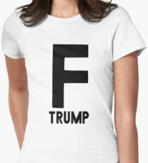 F Trump Womens Fitted T-Shirt