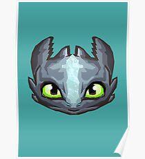 Dragon Vector Poster