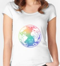Save the Earth! Women's Fitted Scoop T-Shirt