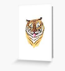 El Tigre Greeting Card