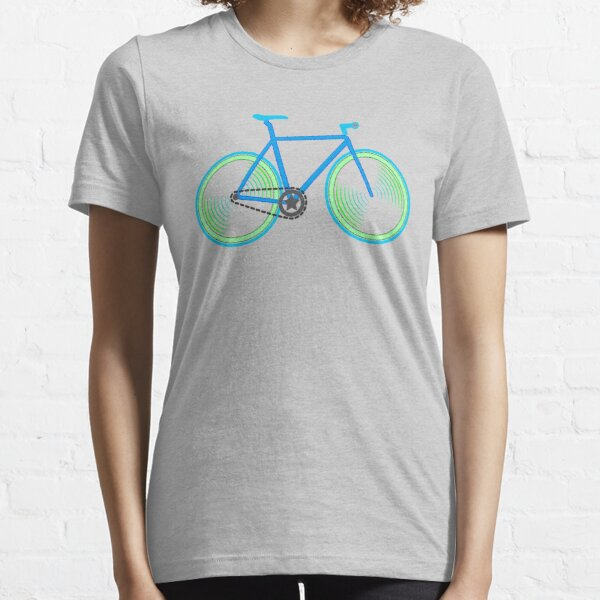 Fixie Green and Blue Essential T-Shirt