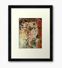Abstract Friend  Framed Print