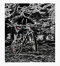 Mountain Bikes Photographic Print