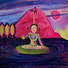Girl Buddha by kathryn burke petrillo