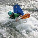 Surfing the Wave Kayaking by Wayne King
