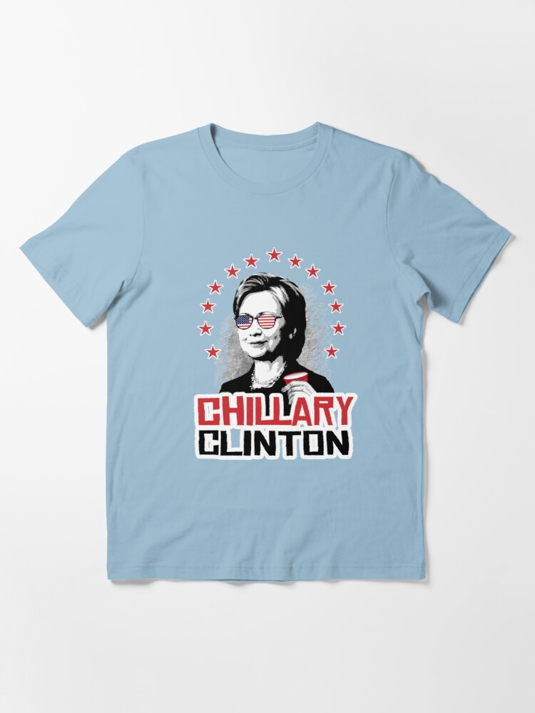 Alternate view of Chillary Clinton Essential T-Shirt