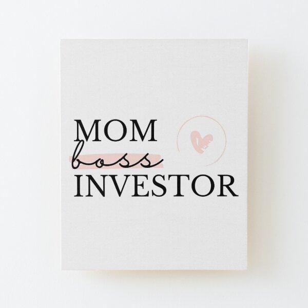 Mamá, Jefe, Inversor Lámina montada de madera