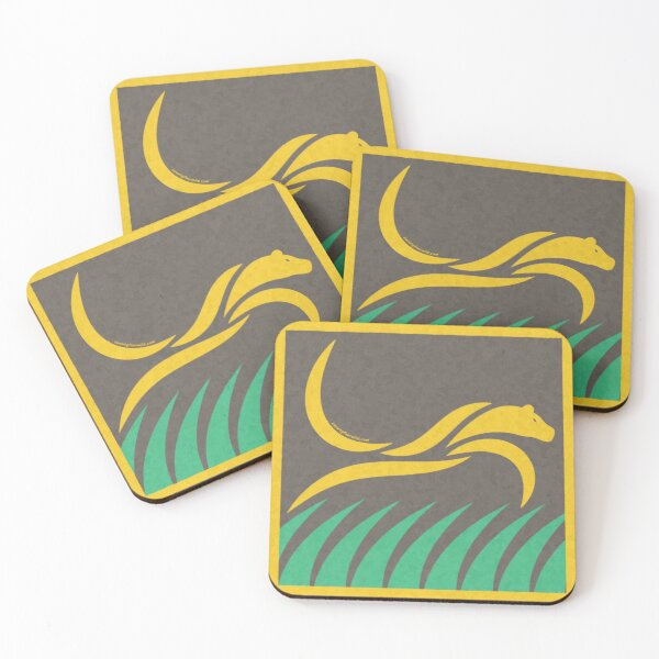 Tribal Lioness Cave Painting | Twenty Four Wild Coasters (Set of 4)