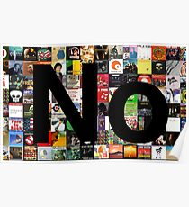 No (Album Covers background) Poster