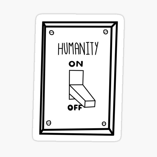 Humanity Switch Sticker
