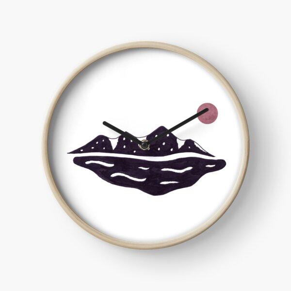 Mountain Mirage - Color Clock