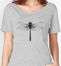 Black Dragonfly Women's Relaxed Fit T-Shirt