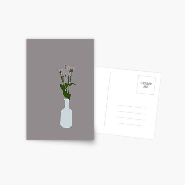 Grandma's Roses - Color Postcard