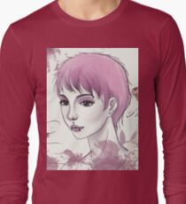Nerdy Girl Pastell Vintage Postcard T-Shirt