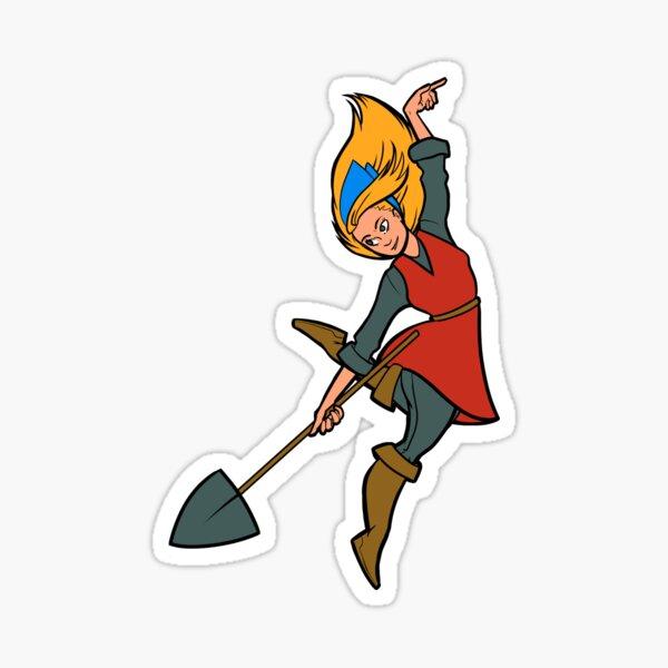 Crypt of the Necrodancer: Cadence + shovel! Sticker