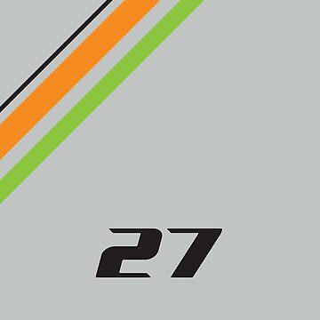 Nico Hulkenberg F1 by GreenSpeed