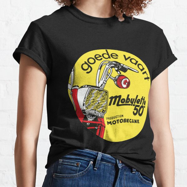 Cyclomoteur Vintage Mobylette 50 Motobecane Classic Repro T-shirt classique