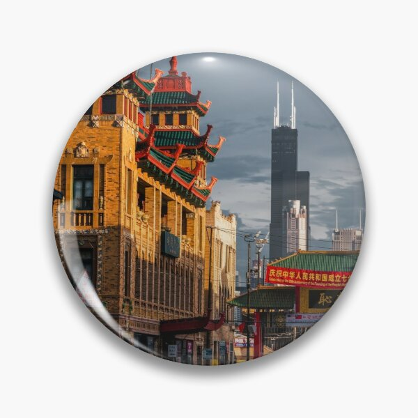 Chinatown in Chicago Pin