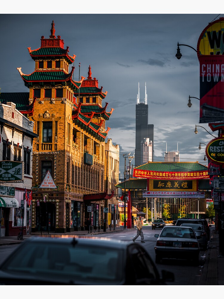 Chinatown in Chicago by HudsonPhotos