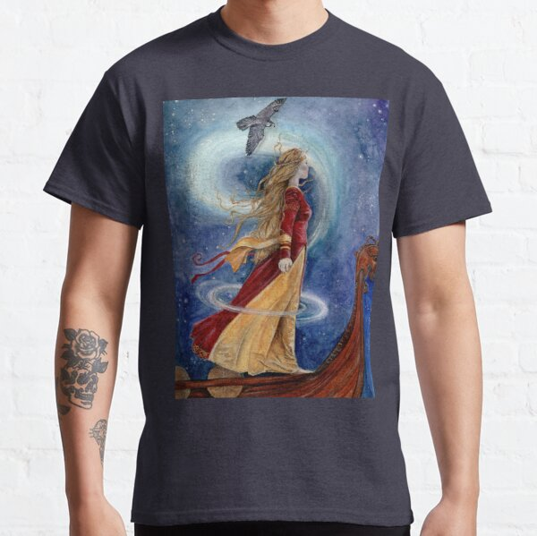 The Goddess Freyja - Shapeshifter Classic T-Shirt