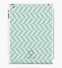 blue spike pattern iPad Case/Skin