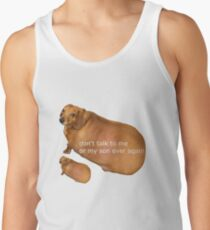 Don't talk to me or my son ever again - geek Men's Tank Top