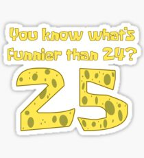 25 - Spongebob Sticker